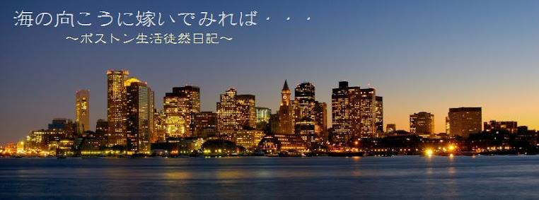 海の向こうに嫁いでみれば ~ボストン生活徒然日記~