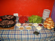mesa buffet de chivitos