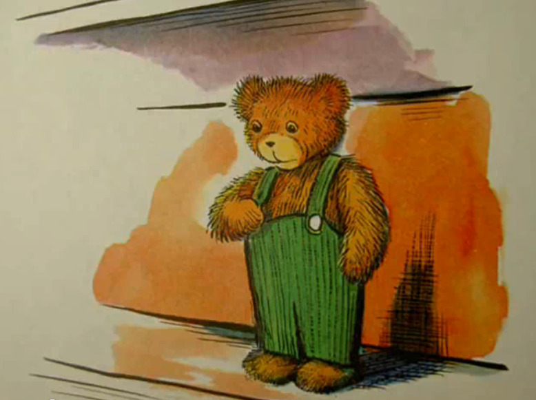 Corduroy the  teddy bear