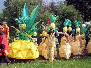 Фестиваль ананасов в Таиланде