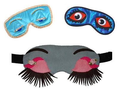 sleep masks decorating