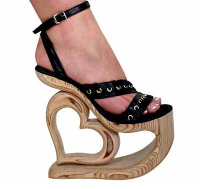 love heart heels