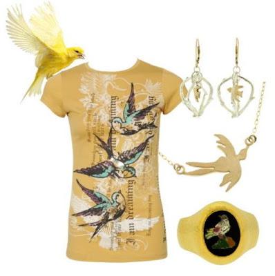 Bird Tattoo Tee – charlotterusse.com