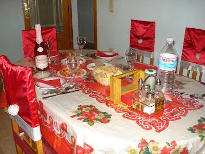 Entretenimientos de Pepa: Fundas sillas Navidad