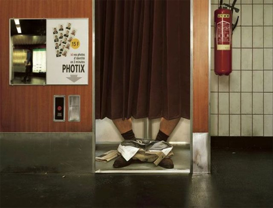 photo booth Award Winning Images of Fun Advertising Campaigns
