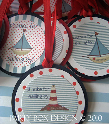 nautical baby shower invites
