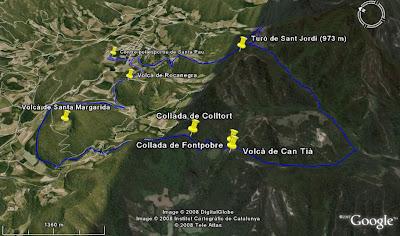La ruta al Google Earth