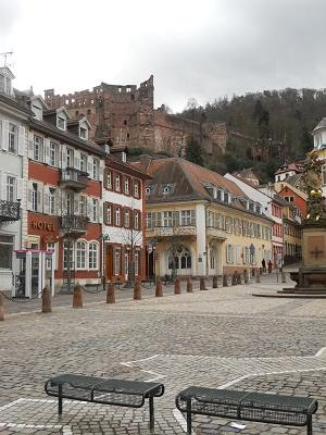 Heidelberg Square and Castle