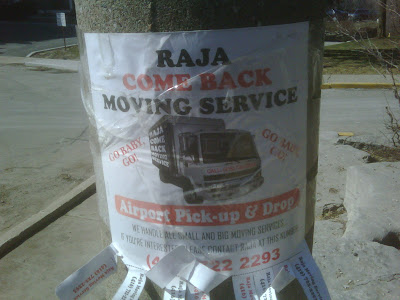 Raja Come Back Moving Service - Save Your Marraige