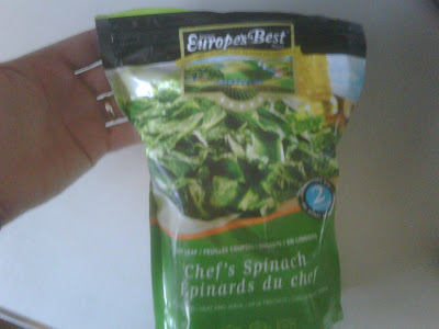 Europe's Best Chef's Spinach