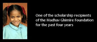 Madhav Ghimiri Foundation scholarship recipient