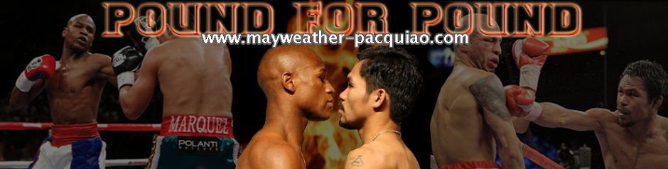 Manny Pacquiao VS Floyd Mayweather fight in 2010