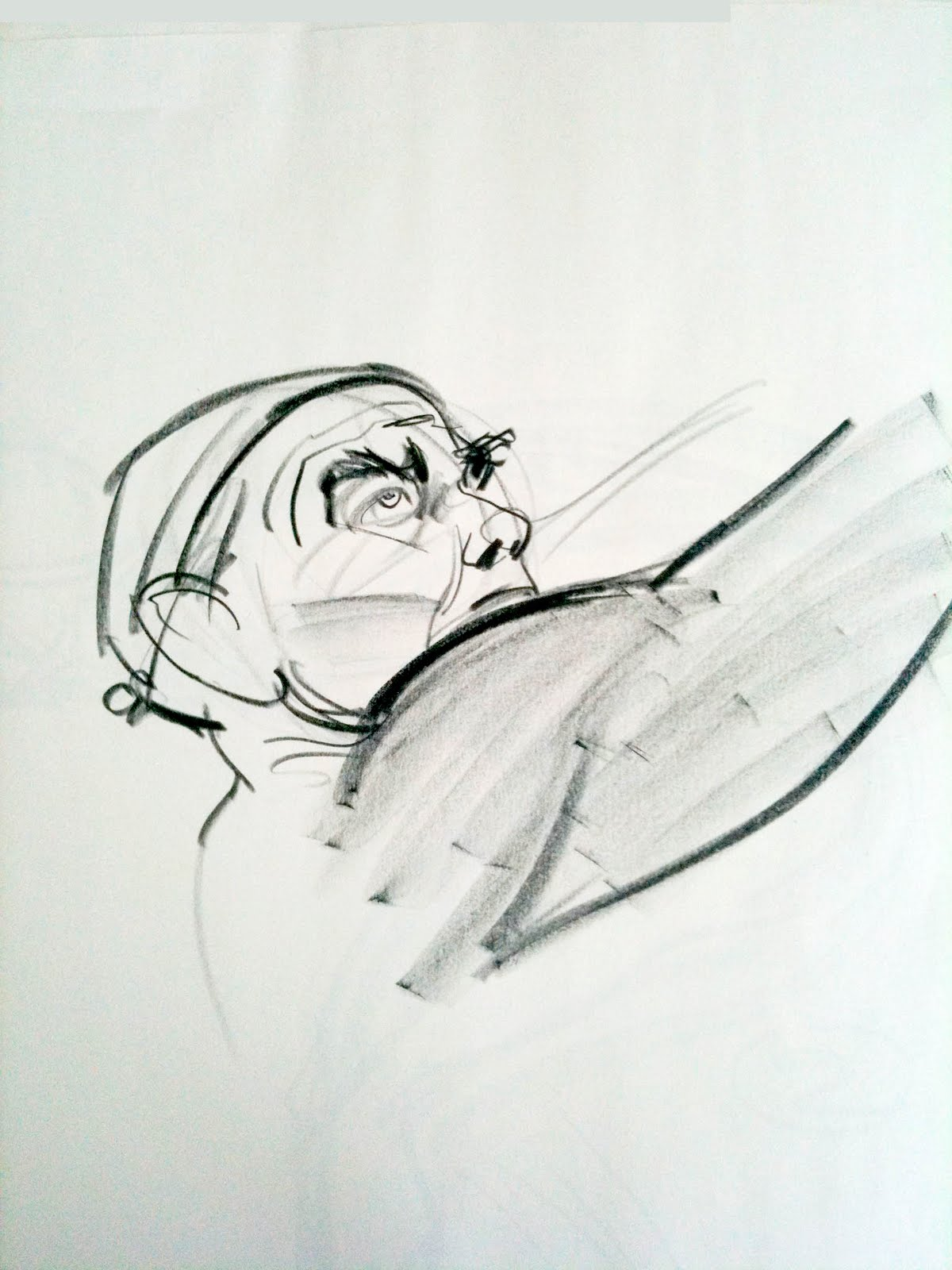 Force Character Design From Life Drawing By Mike Mattesi : Forced by mike mattesi some more short duration figure