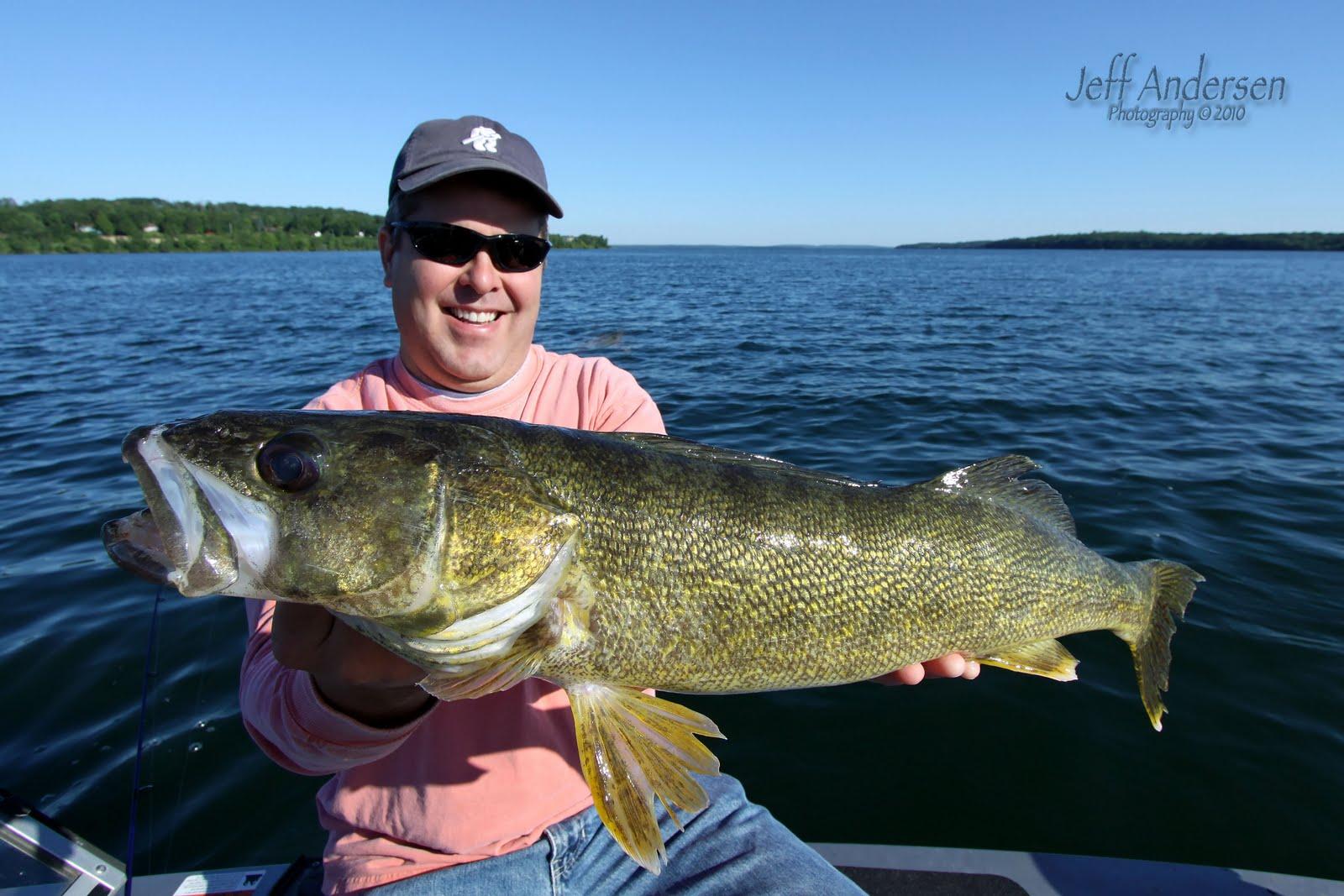 Lake fishing photography