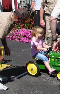 tractor pullin' girl