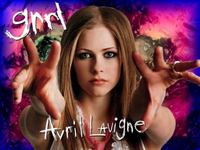 Avril Lavigne 2002. tattoo With every new Avril