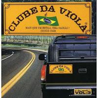 3 CD Clube da Viola Vol. 1, 2 e 3.