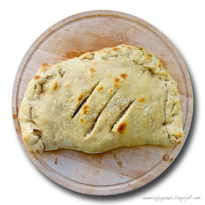"Calzone whole w ""Healthier"" Homemade Calzones"