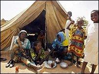 لاجئي دارفور