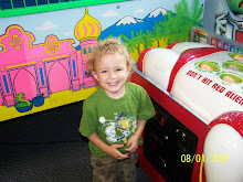 Coen at the new arcade... Joni's choice for her big day..