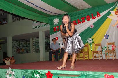 Oruna Araujo -1er puesto karaoke 2010