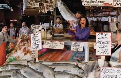 Osprey steelhead news pike place fish market wont sell for Fish market seattle