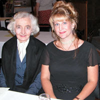 Dr. Alice Von Hildebrand and I