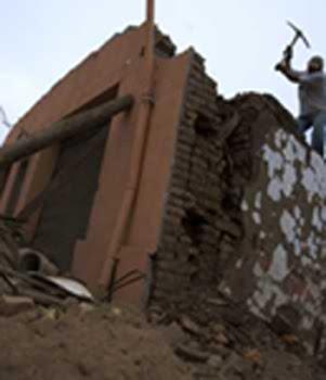 Los abuelitos y el terremoto