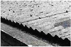 Telhas de cimento amianto