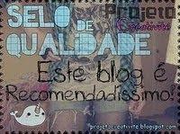 """Selinho:""""este blog é recomendadíssimo!"""""""