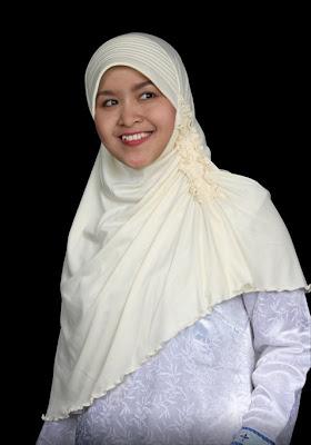 Jilbab Coklat Muda
