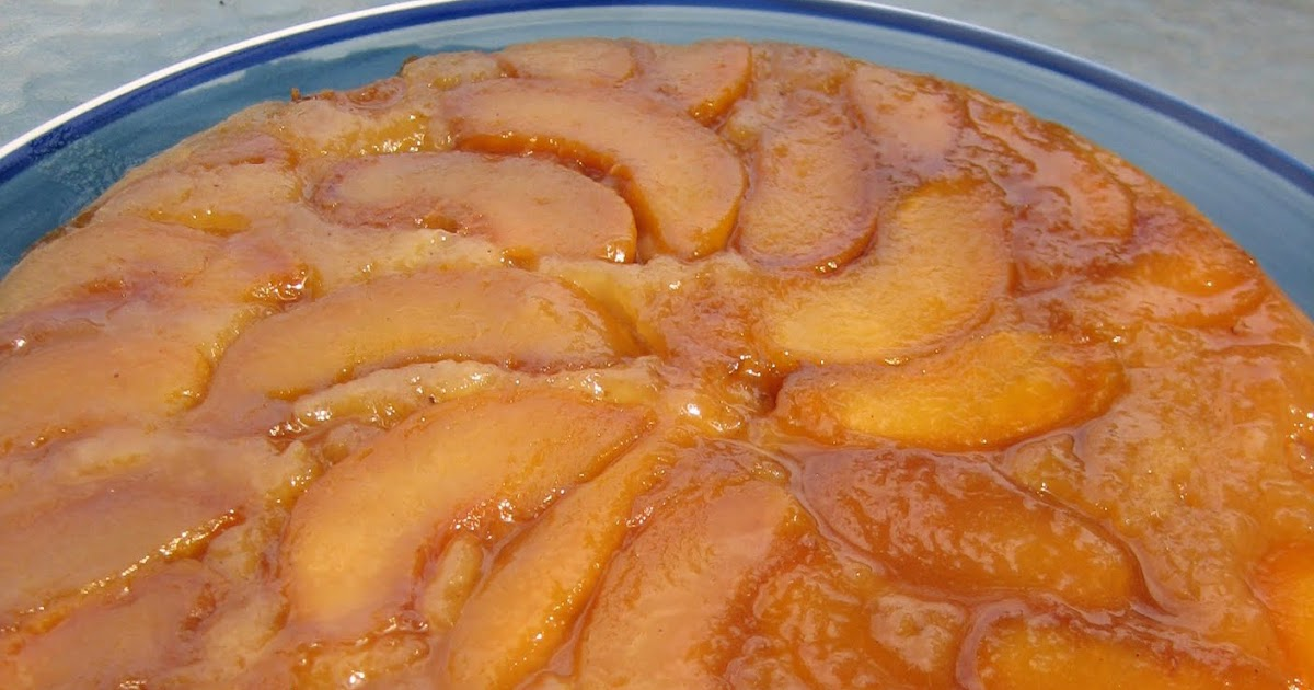 Peach Upside Down Cake Recipe Using Canned Peaches