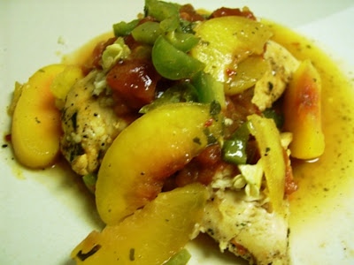 Gluten Free Dairy Free Spicy Peach Chicken