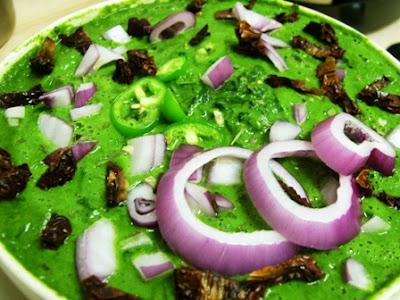 Paleo Creamy Spinach Soup [ Vegan, Gluten Free ]