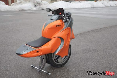 The UNO - One Wheeled Motorcycle