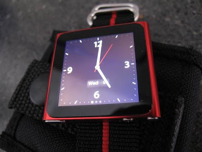 iPod nano touch as a wristwatch