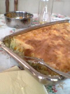 acompanhamento, arroz, massa, torta,