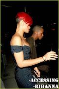 Accessing: Rihanna: Fotos:Rihanna e Matt Kemp saindo de um Restaurante