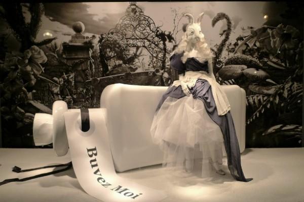 URBAN SPACE: Alice In Wonderland Window Display