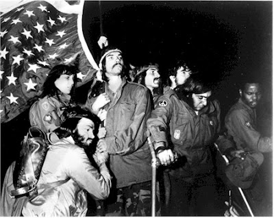1967: first time veterans protested Vietnam war