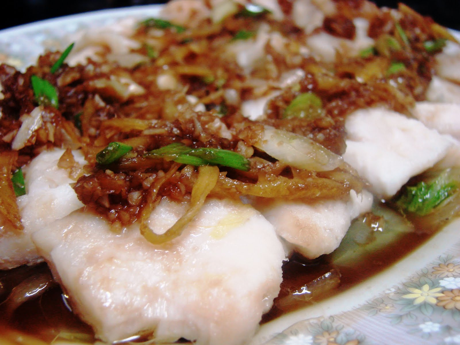 Cuppy Creme: Steamed Fish Fillet with Garlic Ginger Sesame Soy ...