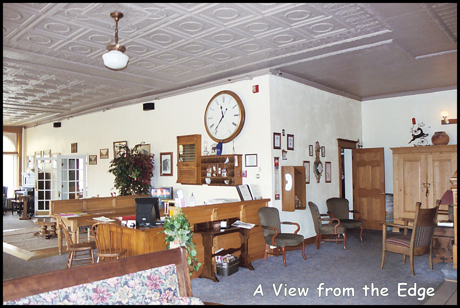 It Was Built In 1901 On The Original Site Of Sauk Centre House Town S First Hotel Which Burned To Ground 1900 Palmer