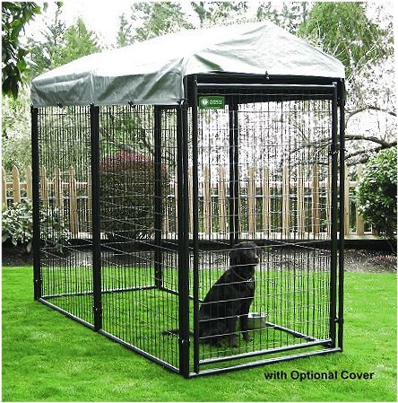 Outdoor Dog Kennel Herrons KennelsnCrates...