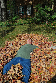 Hubby loves those leaves!