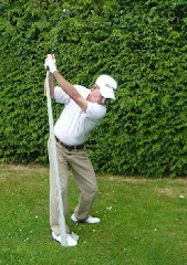 How to Swing in Plane, Golf Drill for Backswing Plane