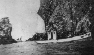 Brottsjø på fiske ved Bjørnøya