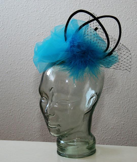 tocado para el pelo tokio azul