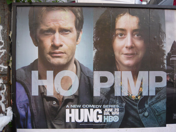 hung promo poster This past weekend I was having a discussion with a young woman about one of ...