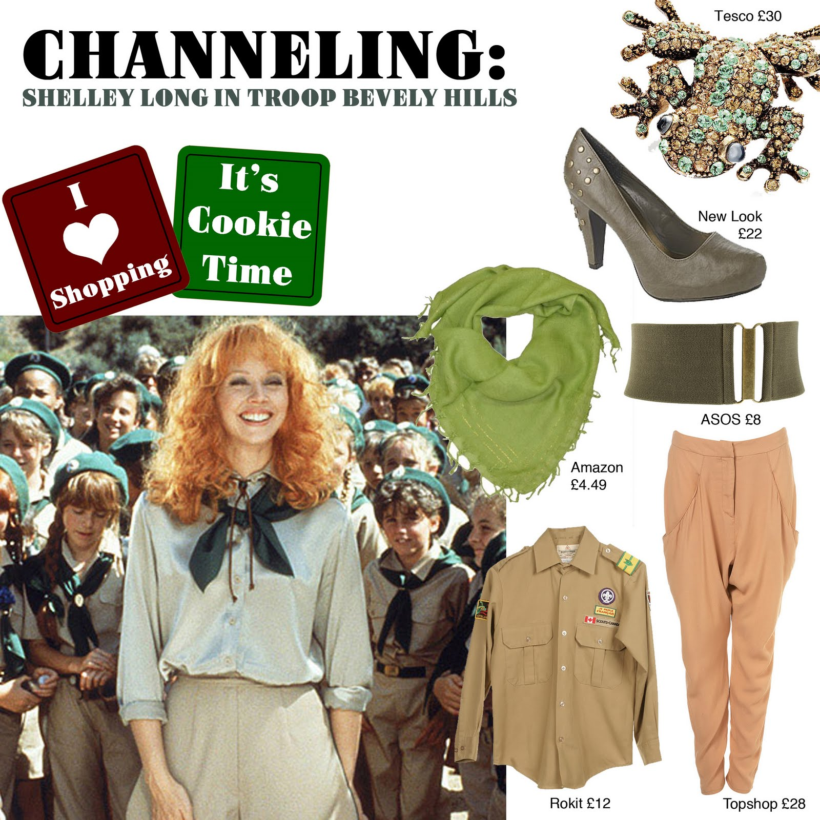 Channeling   Shelley Long In Troop Beverly Hills