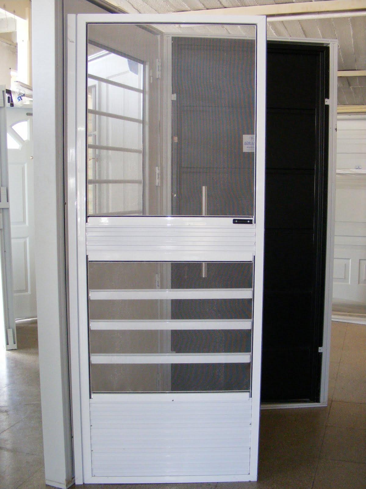 Aberturas vaquero puertas mosquitero for Mosquiteros de aluminio